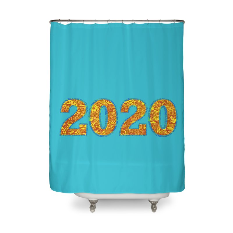2020 Vision Home Shower Curtain by BullShirtCo