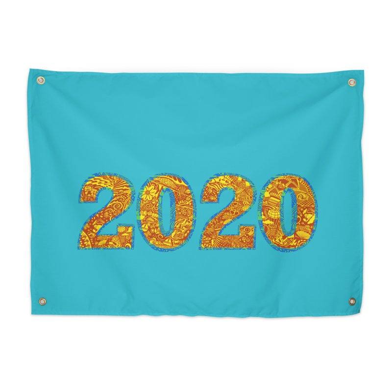 2020 Vision Home Tapestry by BullShirtCo