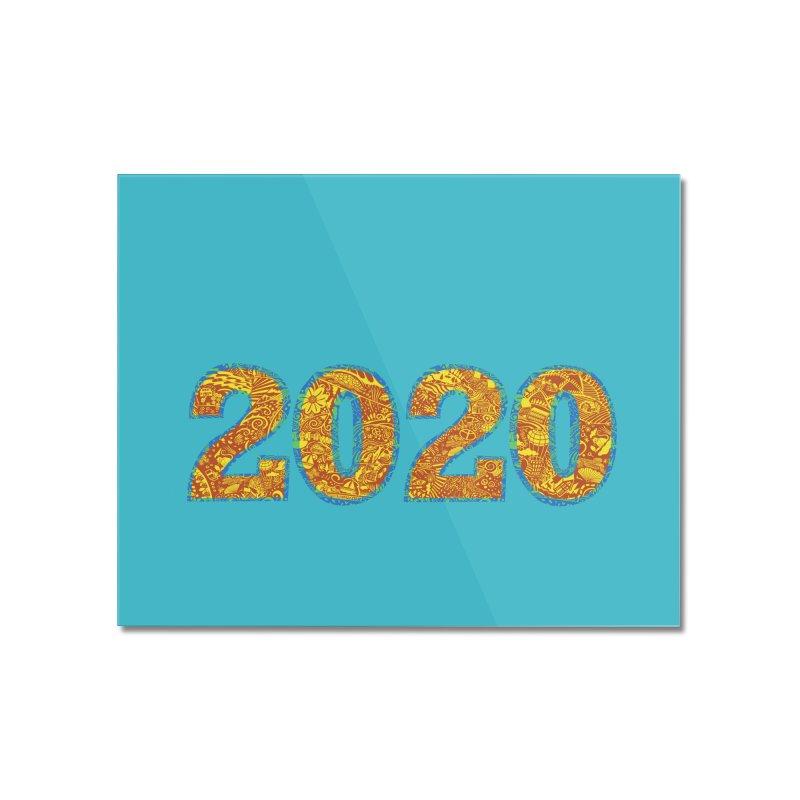 2020 Vision Home Mounted Acrylic Print by BullShirtCo