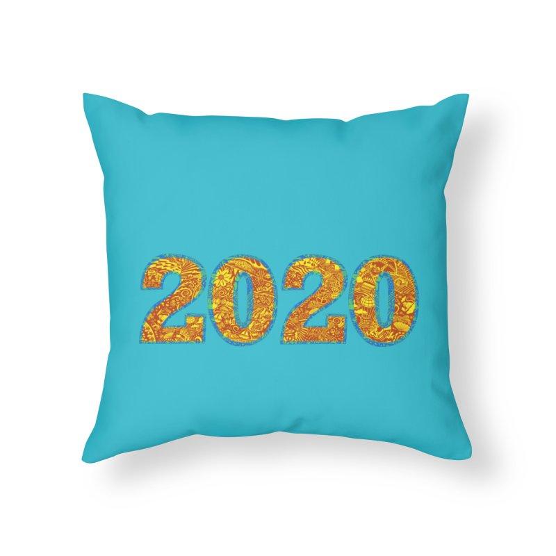 2020 Vision Home Throw Pillow by BullShirtCo