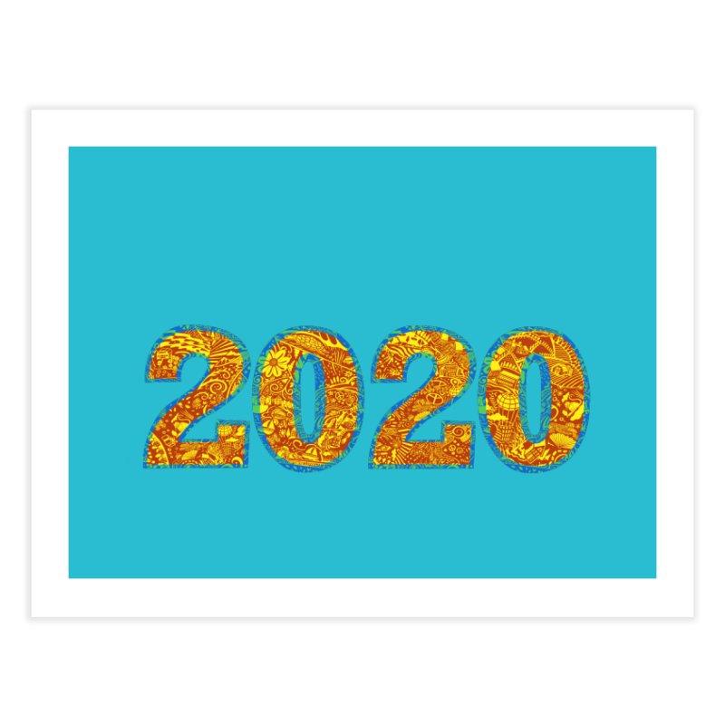 2020 Vision Home Fine Art Print by BullShirtCo
