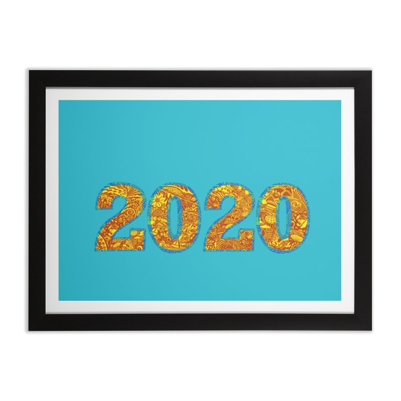 2020 Vision Home Framed Fine Art Print by BullShirtCo
