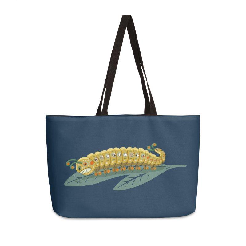 Road to Crysalis Accessories Weekender Bag Bag by BullShirtCo
