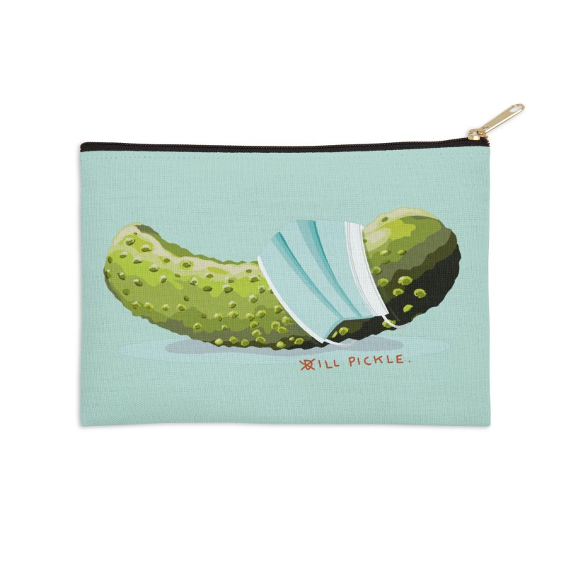 ill Pickle Accessories Zip Pouch by BullShirtCo