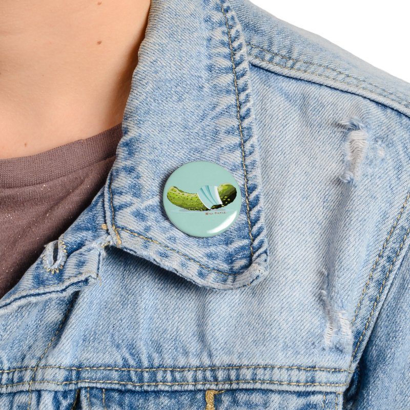 ill Pickle Accessories Button by BullShirtCo