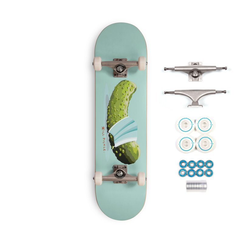 ill Pickle Accessories Complete - Basic Skateboard by BullShirtCo