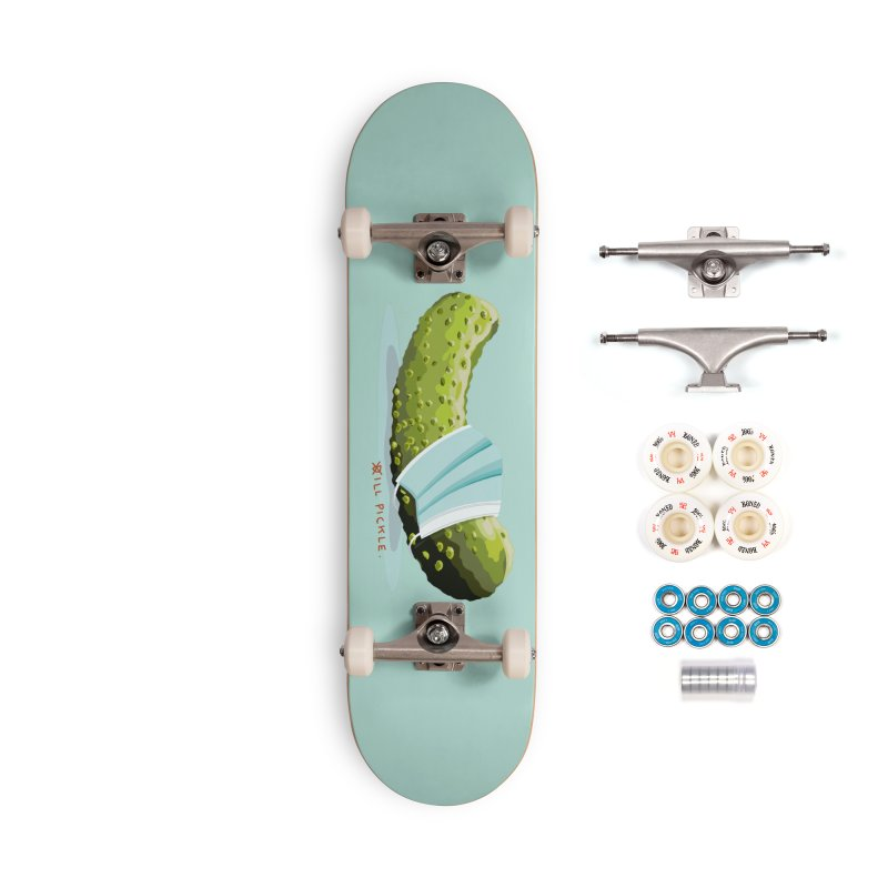 ill Pickle Accessories Complete - Premium Skateboard by BullShirtCo