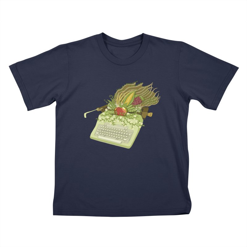Annual Almanac Kids T-Shirt by BullShirtCo