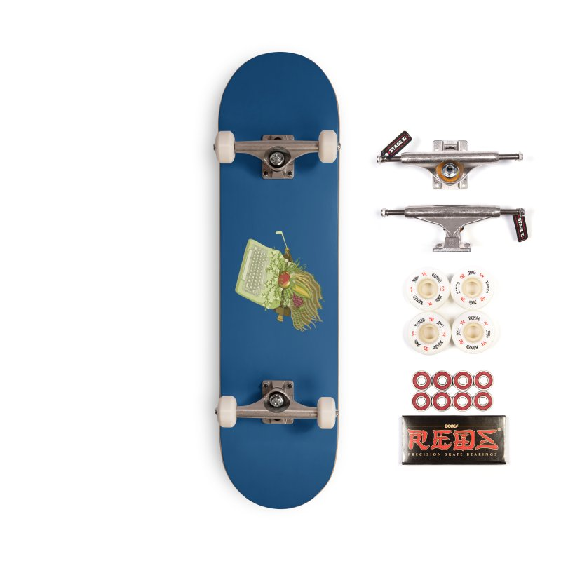 Annual Almanac Accessories Skateboard by BullShirtCo