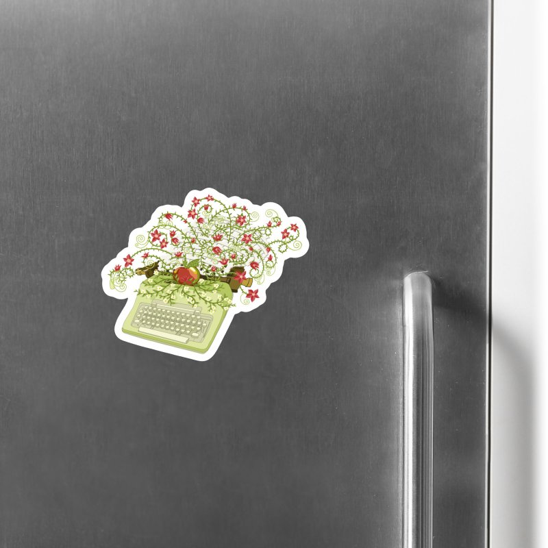 Gardening Guide Accessories Magnet by BullShirtCo