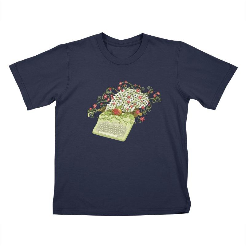 Gardening Guide Kids T-Shirt by BullShirtCo