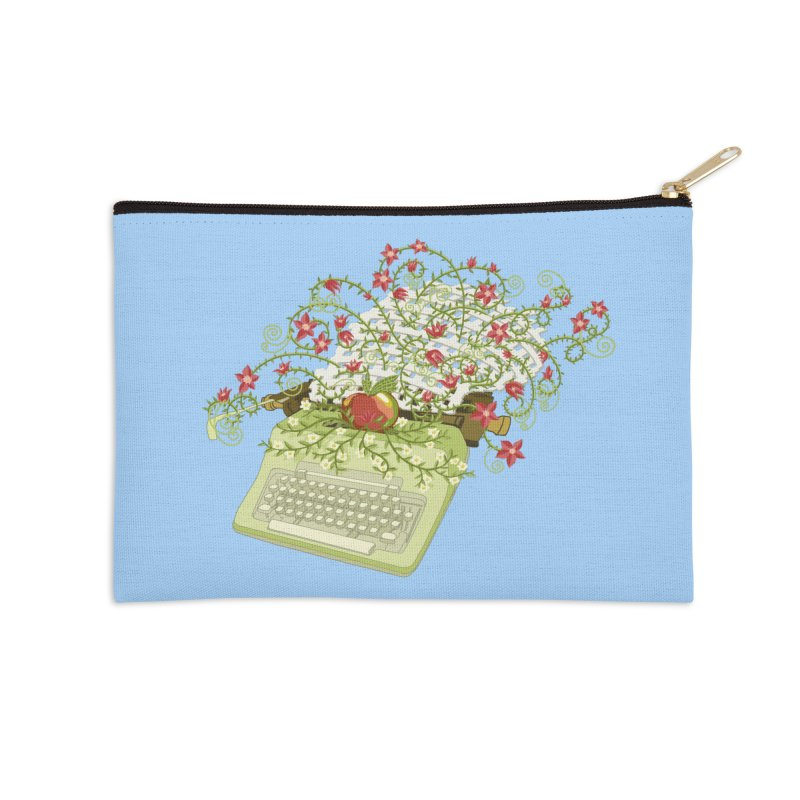 Gardening Guide Accessories Zip Pouch by BullShirtCo