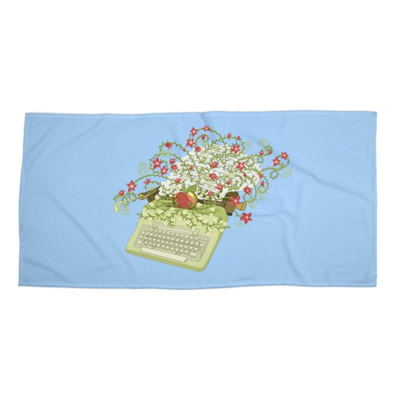 Gardening Guide Accessories Beach Towel by BullShirtCo