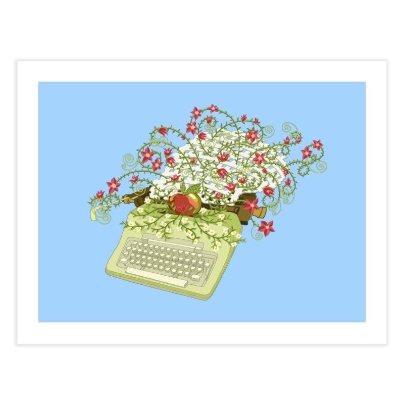 Gardening Guide Home Fine Art Print by BullShirtCo