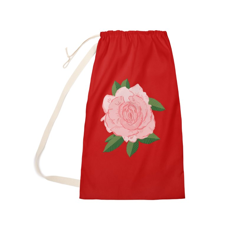 Female Flower Power Accessories Bag by BullShirtCo