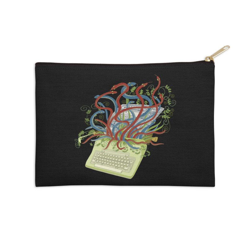 Power of the Press Accessories Zip Pouch by BullShirtCo