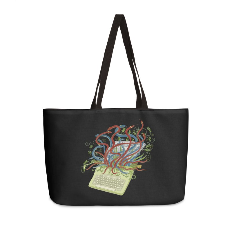 Power of the Press Accessories Bag by BullShirtCo