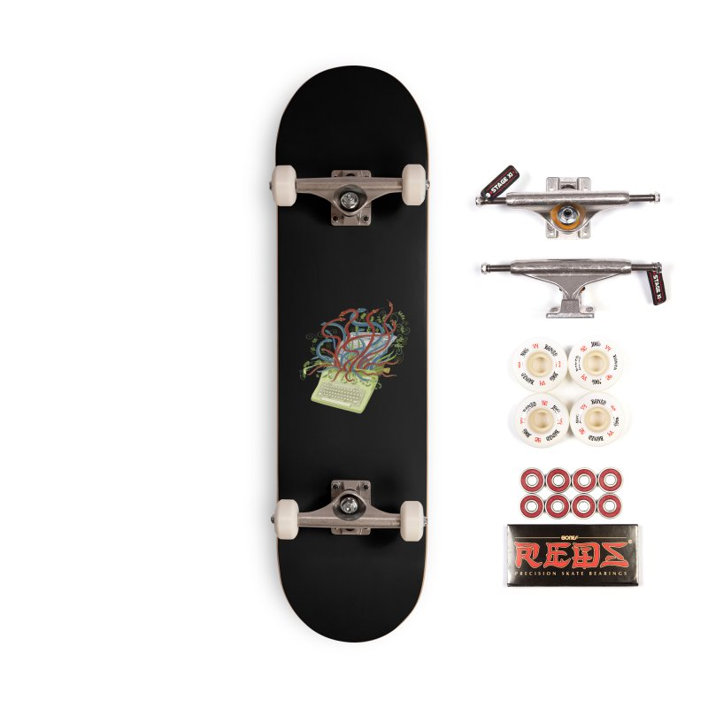 Power of the Press Accessories Skateboard by BullShirtCo