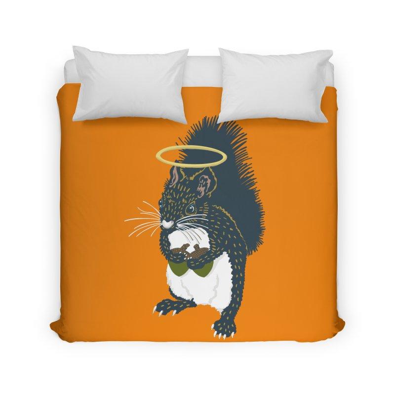 Bless My Nuts! Home Duvet by BullShirtCo