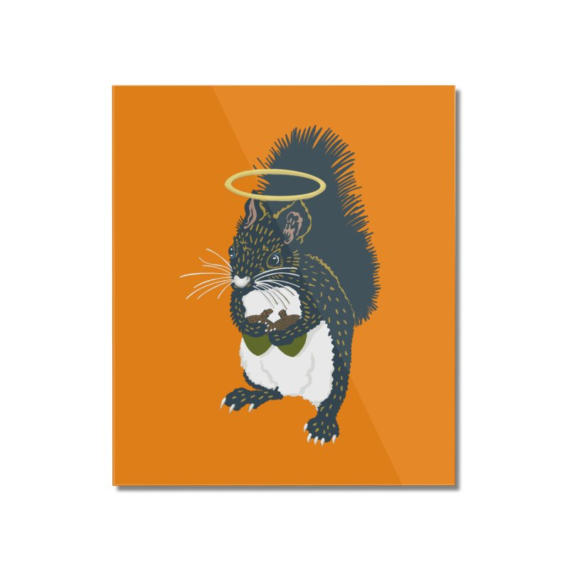 Bless My Nuts! Home Mounted Acrylic Print by BullShirtCo
