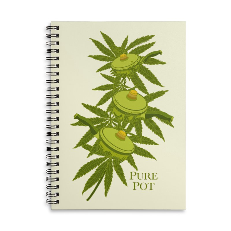 1968 Natural Pot Accessories Notebook by BullShirtCo