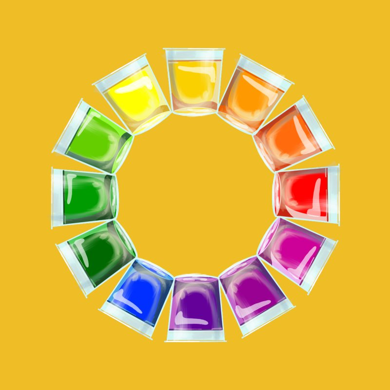 My Color Wheel of Jelly Shots Home Blanket by BullShirtCo