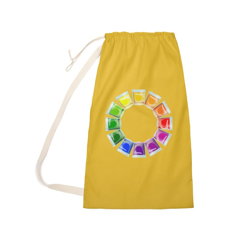 My Color Wheel of Jelly Shots Accessories Bag by BullShirtCo