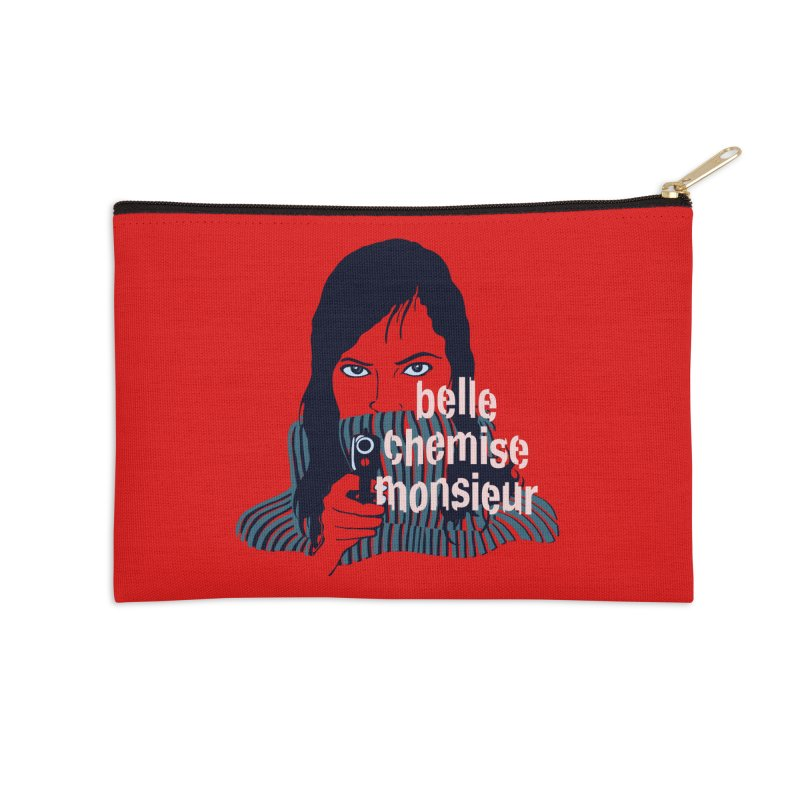 Belle Chemise (French Underground) Accessories Zip Pouch by BullShirtCo