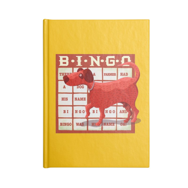 And Bingo was his name Oh Accessories Notebook by BullShirtCo