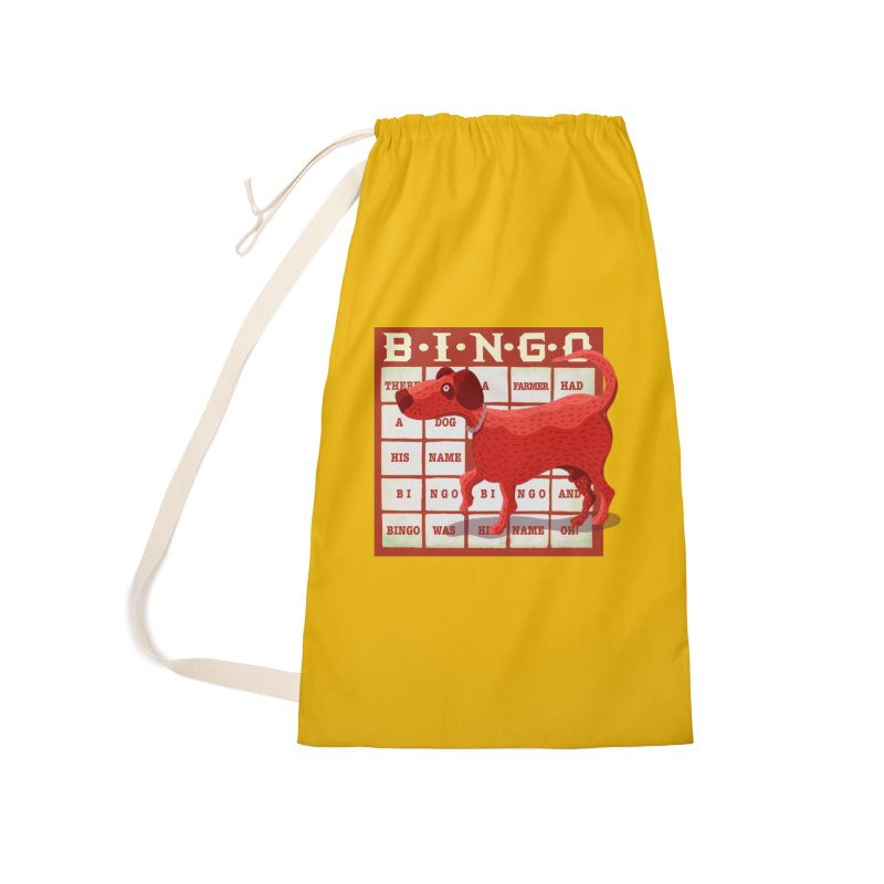 And Bingo was his name Oh Accessories Bag by BullShirtCo