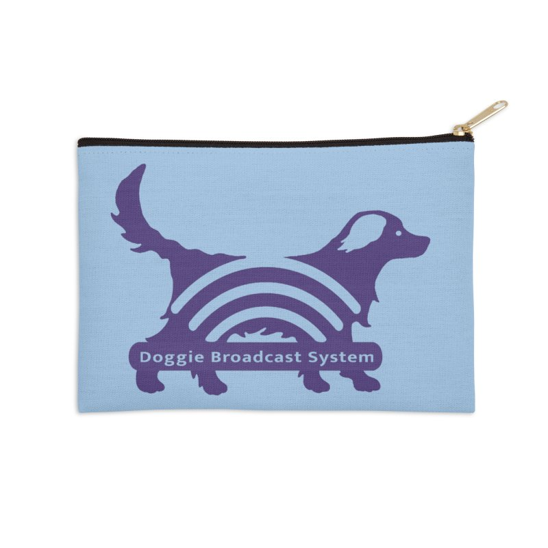 Doggie Broadcast System Accessories Zip Pouch by BullShirtCo