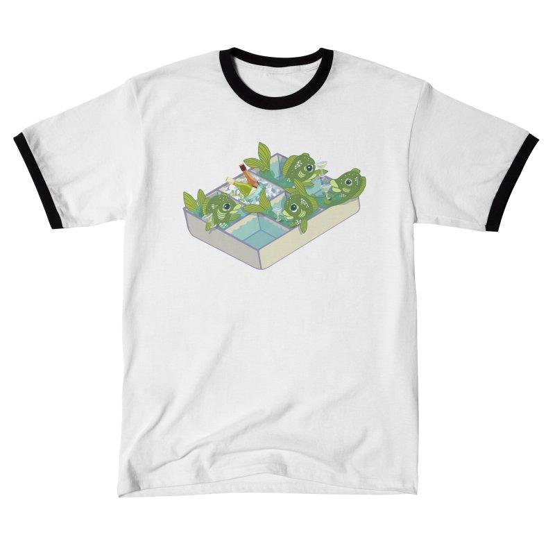 Ice Fishing Men's T-Shirt by BullShirtCo