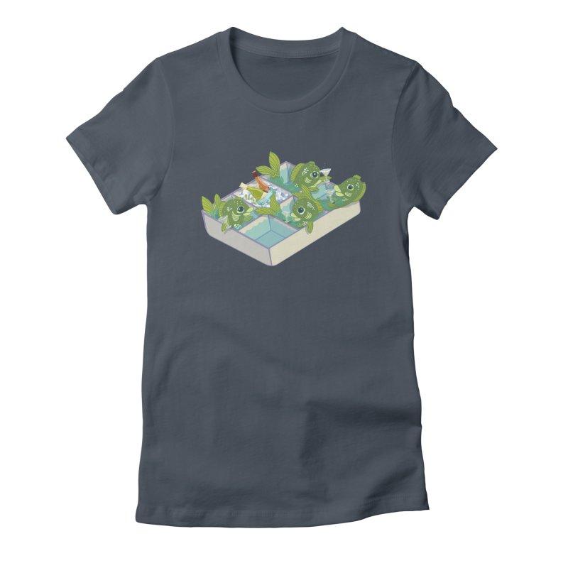 Ice Fishing Women's T-Shirt by BullShirtCo
