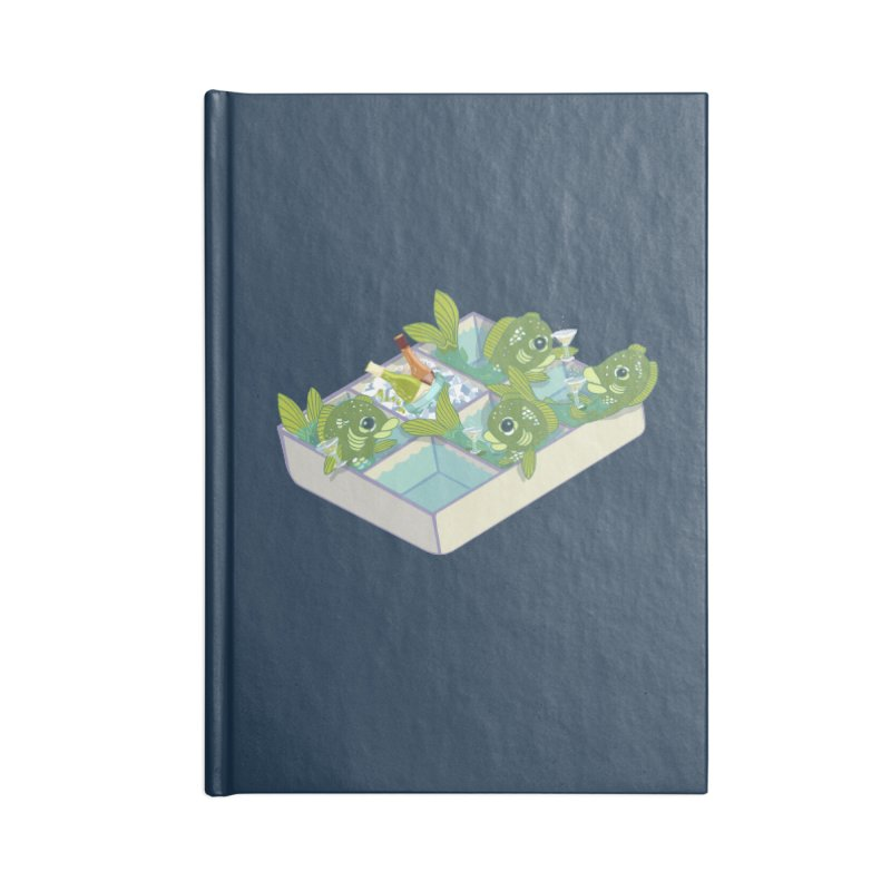Ice Fishing Accessories Notebook by BullShirtCo