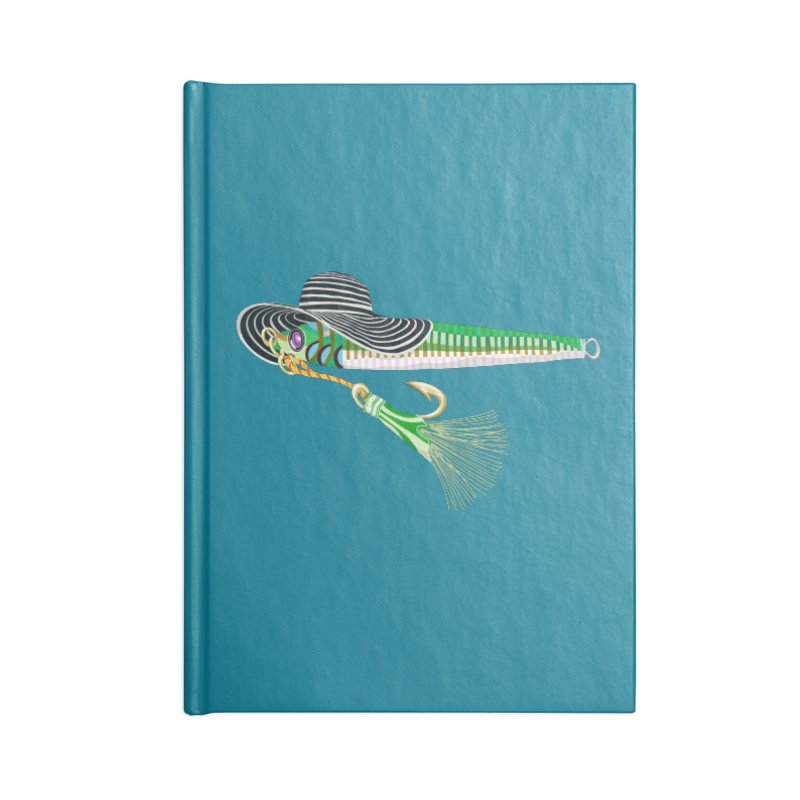 Green Hooker! Accessories Notebook by BullShirtCo