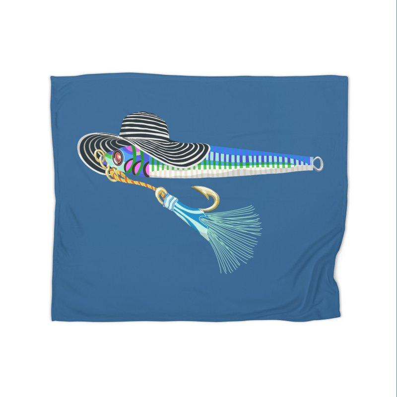Blue Hooker Home Blanket by BullShirtCo