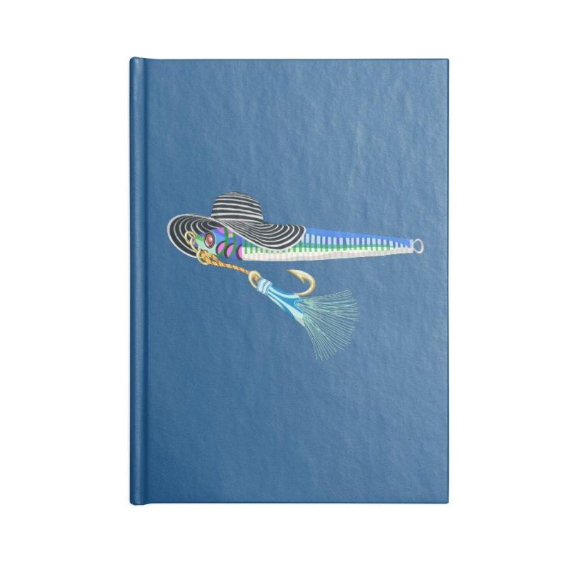 Blue Hooker Accessories Notebook by BullShirtCo