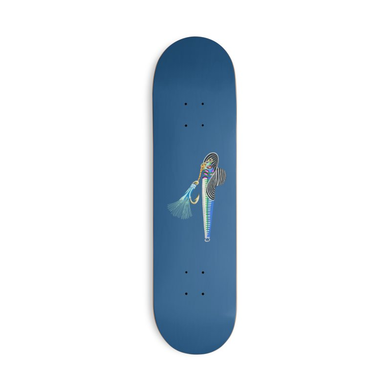 Blue Hooker Accessories Skateboard by BullShirtCo