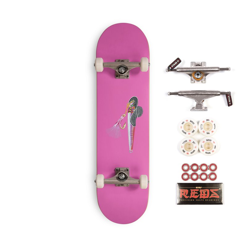 Red Hooker! Accessories Skateboard by BullShirtCo