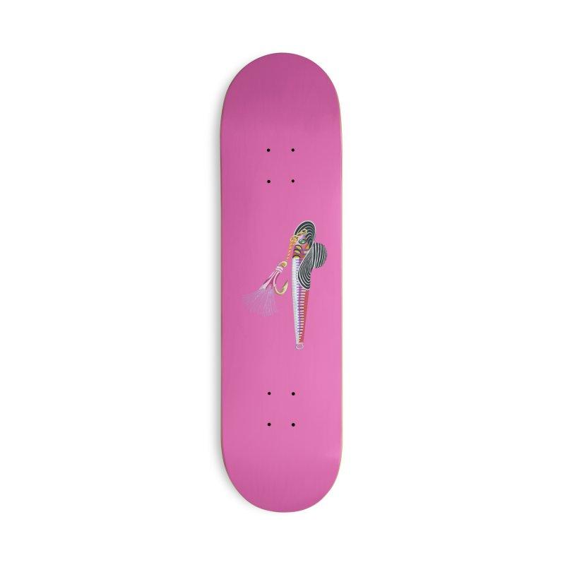 Red Hooker! Accessories Skateboard by BullShirtCo