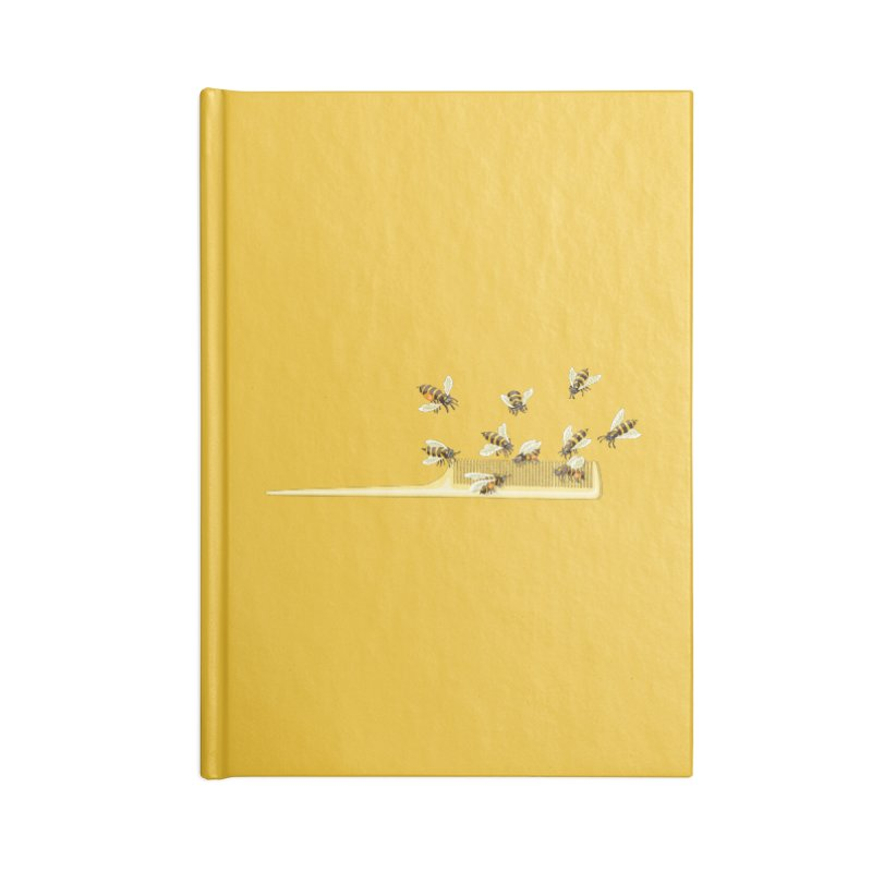 Mislead Team Of Busy Bees Accessories Notebook by BullShirtCo