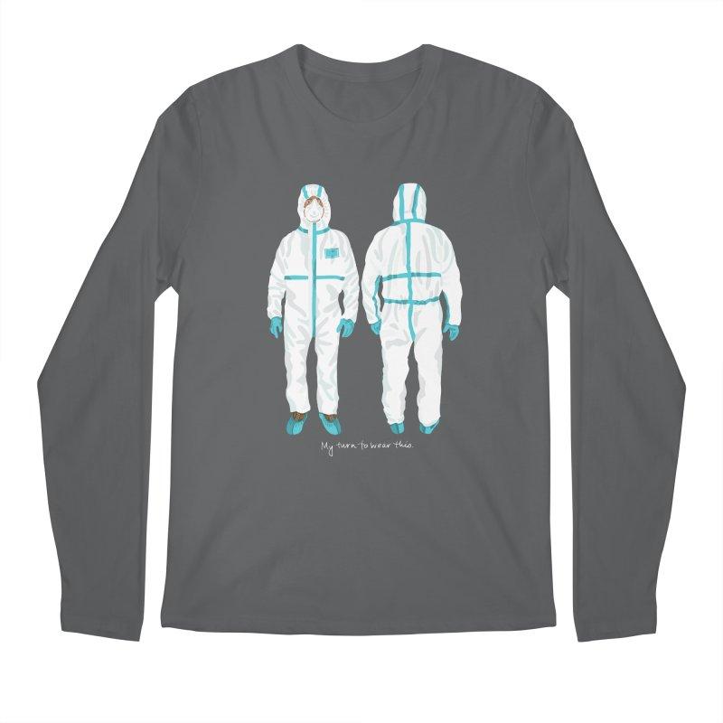 My Turn to Wear This Men's Longsleeve T-Shirt by BullShirtCo