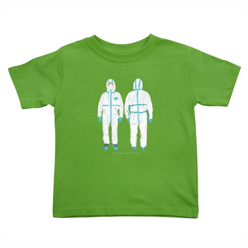 My Turn to Wear This Kids Toddler T-Shirt by BullShirtCo