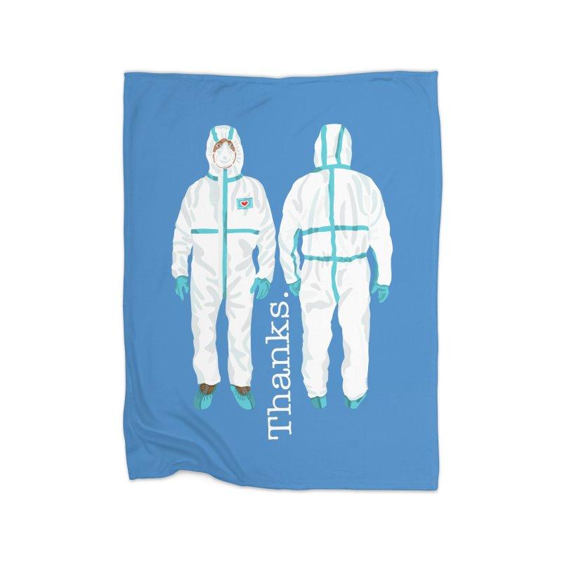 Thanks So Much! Home Blanket by BullShirtCo