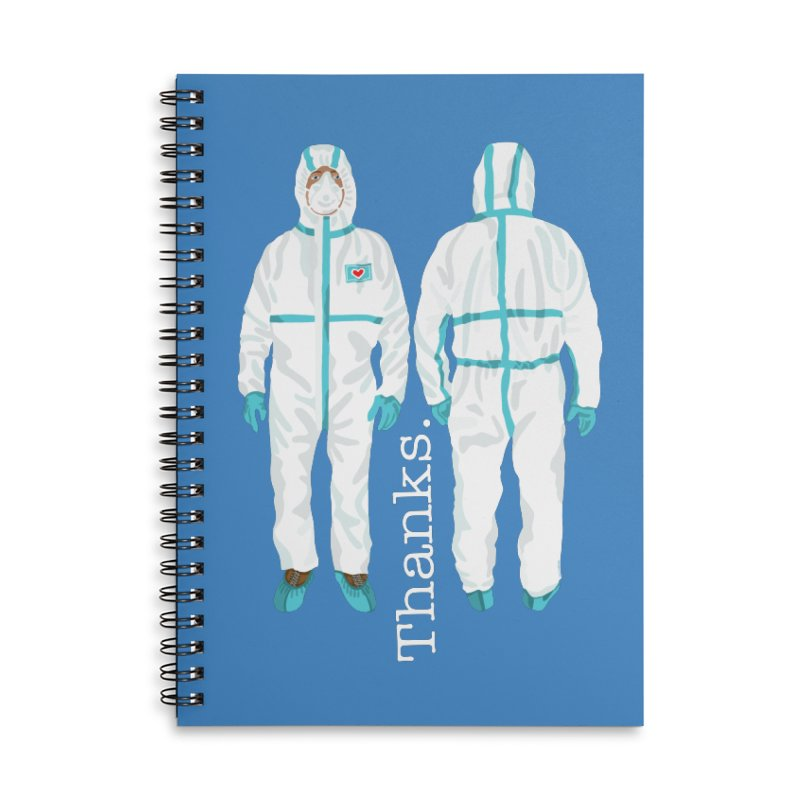 Thanks So Much! Accessories Notebook by BullShirtCo