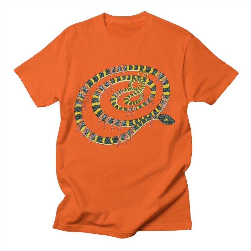 Snake & Ladders Men's T-Shirt by BullShirtCo