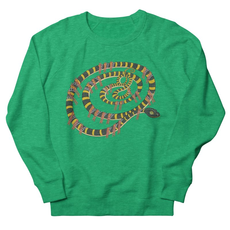 Snake & Ladders Women's Sweatshirt by BullShirtCo