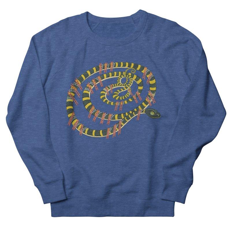 Snake & Ladders Men's Sweatshirt by BullShirtCo