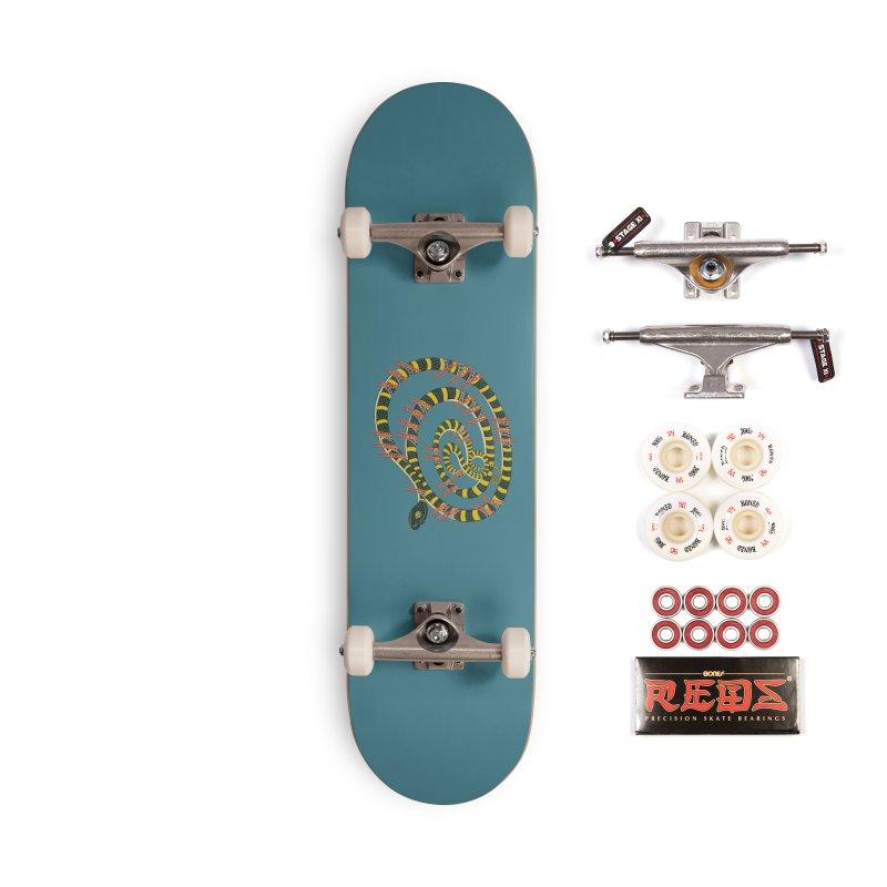 Snake & Ladders Accessories Skateboard by BullShirtCo