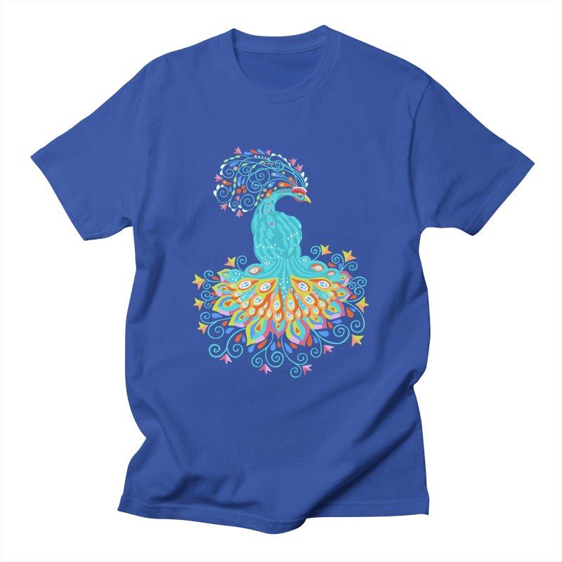 Peacecock Men's T-Shirt by BullShirtCo